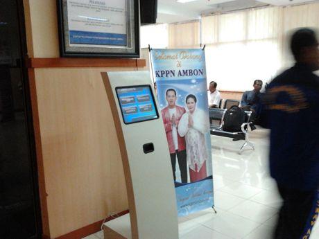 Kiosk Antrian KPPN Ambon