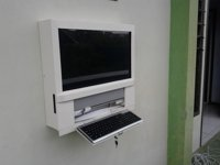 Kiosk Mount Wall 24 Touch Screen PC All in One
