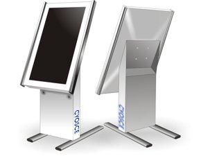 Kiosk Vertikal Monitor