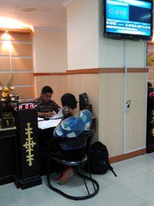 Pelayanan KPPN Display Antrian dan LCD TV Antrian Kiosk Informasi Antrian KPPN Ambon