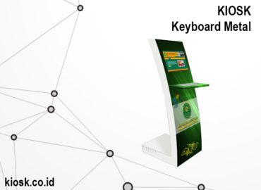 kiosk informasi keyboard metal