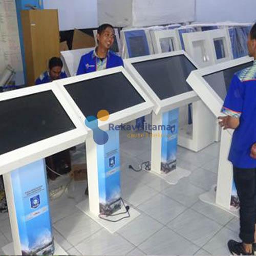 kiosk informasi kominfo tangerang - cyosce