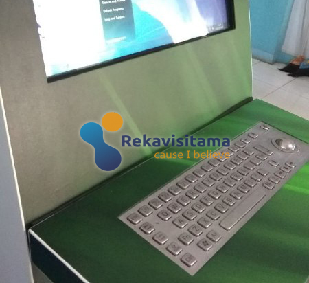 Kiosk Keyboard Metal