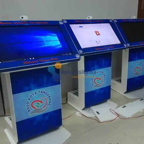 kiosk self service rsud kta tangerang - cyosce