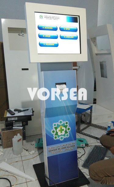 mesin antrian-vorsea-rekavisitama-kiosk-touchscreen